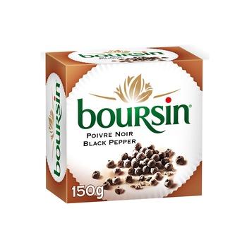 Boursin Soft Cheese, Black Pepper, 150g