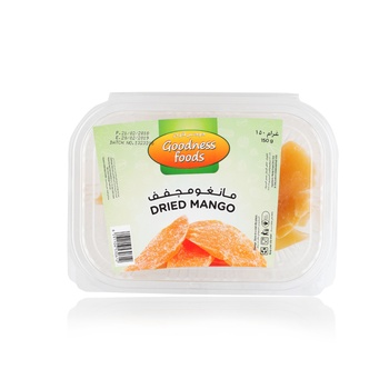 Goodness Foods Dried Mango Sliced (B) 150g