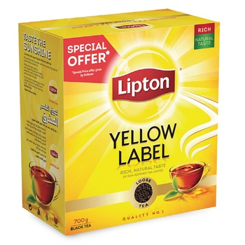 Lipton Yellow Label Tea Pack 700g