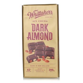 Whittakers Dark Almond Bar 200g