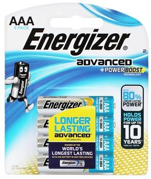 Energizer 1.5 v AAA LR03 (Pack 8)