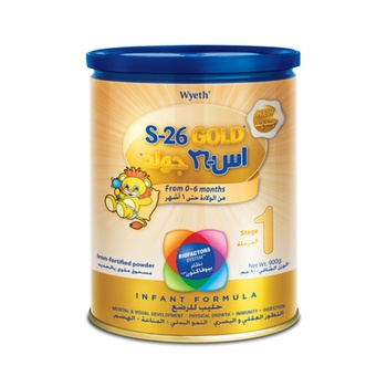 S-26 Gold Stage 1 Infant Formula 900g