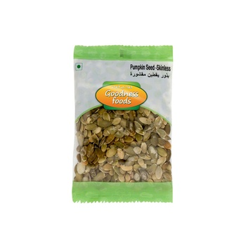 Goodness Foods Pumpkin Seeds Skinless 100g