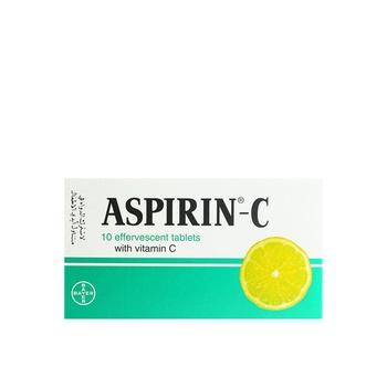 Aspirin C 1 x 10 Tablets