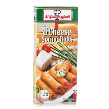 Al Kabeer Cheese Spring Roll  240g