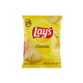Lays Potato Chips Regular 1oz