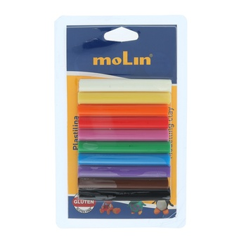 Molin Modelling Clay 10g - 10pcs pack