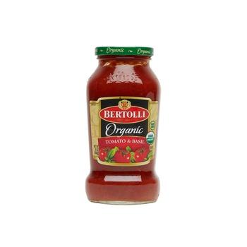 Bertolli Pasta Sace Organic Tomato & Basil 24oz