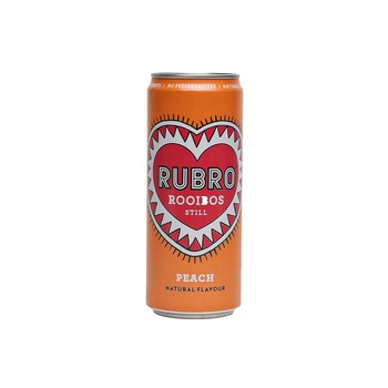 Rubro Peach Rooibos Drink330ml