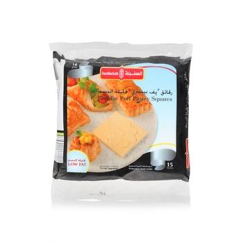 Sunbulah Puff Pastry Square Low Fat 400g