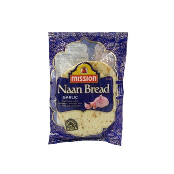 Mission Garlic Naan Bread 280g