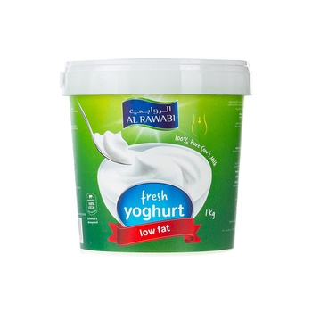 Al Rawabi Fresh Yoghurt Low Fat 1kg
