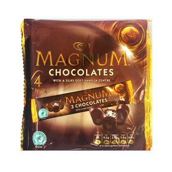 Walls Magnum Chocolate 4 X 36g