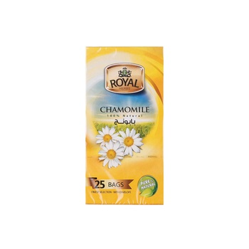 Royal Tea Bags - Camomile  72S