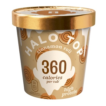 Halo Top Cinnamon Roll Ice Cream 473g