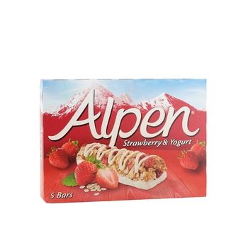 Alpen Strawberry & Yoghurt Bars 28g