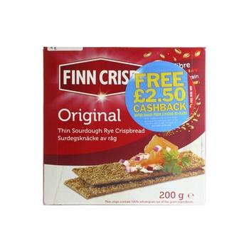 Finn Crisp Original Rye Crispbread 200g