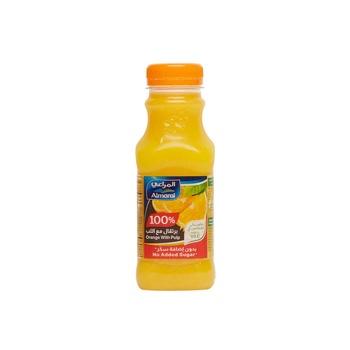 Alm Juice Orange W/Pulp 300Ml -Nsa