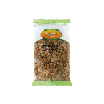 Goodness Foods Raisins Green 500g