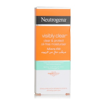 Neutrogena Visibly Clear & Protect Oil-Free Moisturiser 50ml