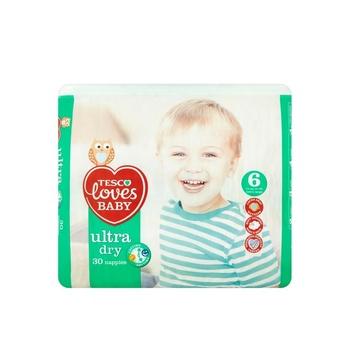 Tesco Loves Baby Dry Size 6 30s