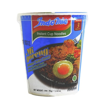 Indomie Cup Noodles Barbecue Chicken 75g