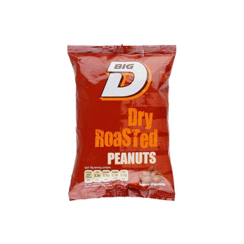 Big D Dry Roasted Peanuts 240g