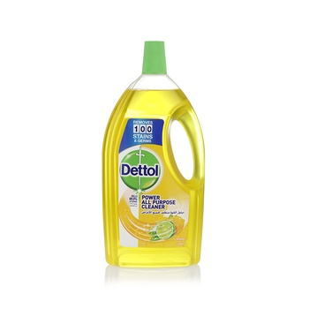 Dettol Healthy Home Anti-Bacterial Disinfectant Multi-Action Cleaner 4-in-1 Lemon 1.8L