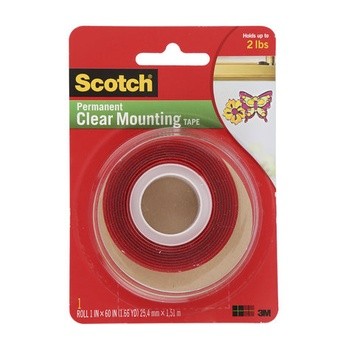 3M Scotch Heavy Duty Clear Mounting Tape