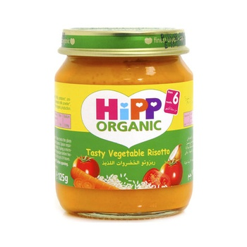 Hipp Organic Baby Food Tasty Vegetable Risotto 125g