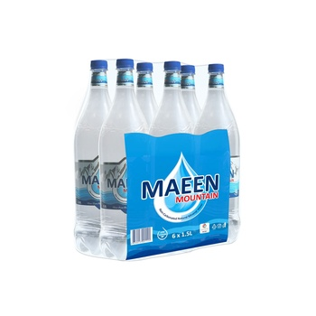 Maeen Mountain Natural Mineral Water 1.5 Ltr pack of 6