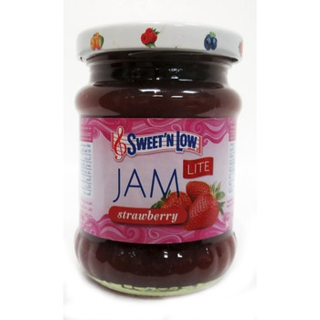Sweet & Low Jam Strawberry 250g