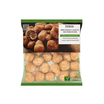 Tesco Garlic Breaded Mushrooms 400g