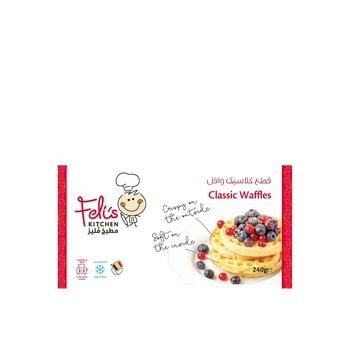 Felis kitchen classic waffles 240g
