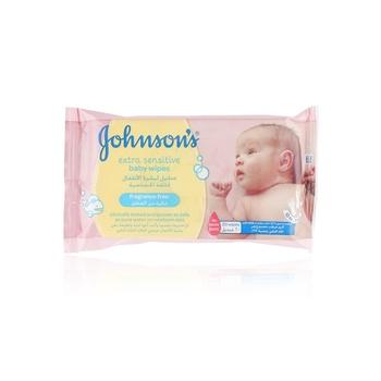 Johnsons Skincare Wipes 20s