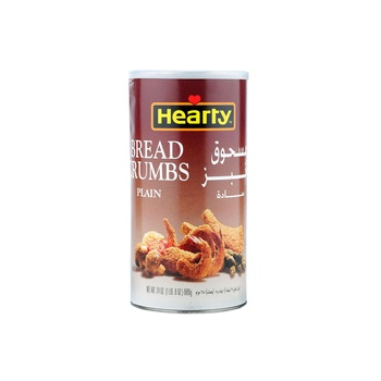 Hearty Plain Bread Crumbs Meal 15oz