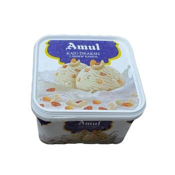 Amul Kaju Draksh Ice Cream 1 ltr