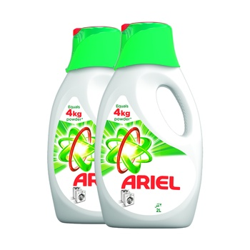Ariel Liquid With Touch Of Downy 2 X 2 ltr