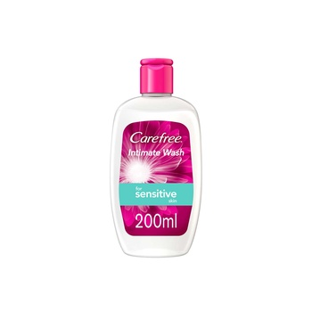 Carefree Sensitive Intimate Wash 200ml
