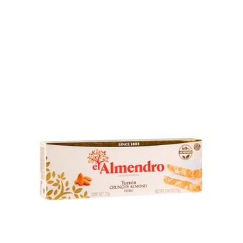 El Almndro Turron De Almond Crujient 75g