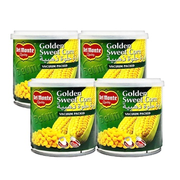 Del Monte Gold Sweet Corn 4x180g
