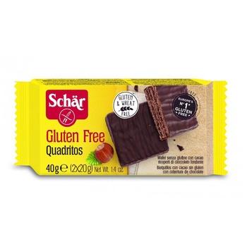 Schar Wafer Quadritos Gluten Free 40g