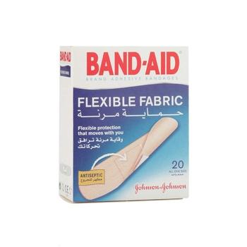 Johnson & Johnson Band Aid Flexible Fabric 20 pcs