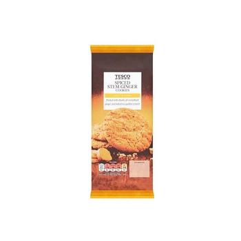 Tesco Spcd Stem Ginger 10 Cookie 200g
