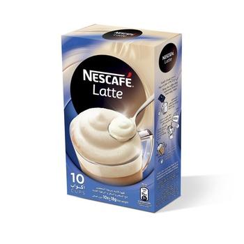 Nescafe Latte 10 X 18g