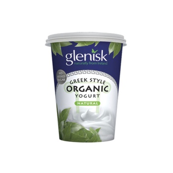 Glenisk Organic Whole Natural Yoghurt 500g