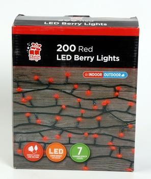 Chamdol Led Berry Lights 200 Red