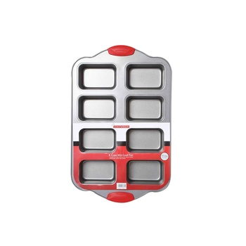 Chefs Pride 8Cup Mini Loaf Pan With Handle