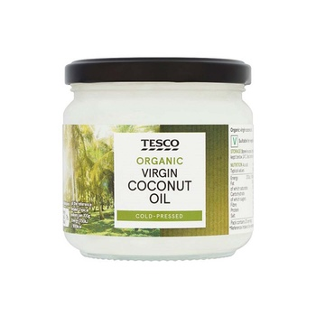 Tesco Organic Virgin Coconut Oil 300ml