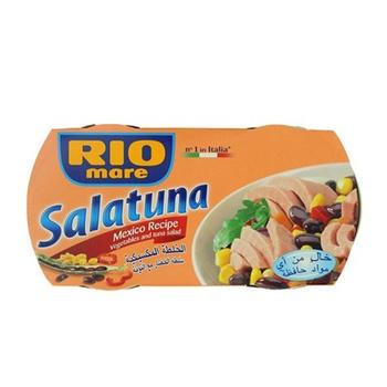 Rio Mare Salatuna Canned Tuna Meat in Mexican Recipe 2 x 160gm @ 20%Off